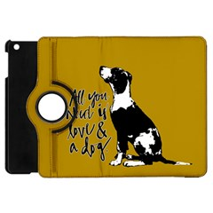 Dog person Apple iPad Mini Flip 360 Case