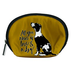 Dog person Accessory Pouches (Medium)
