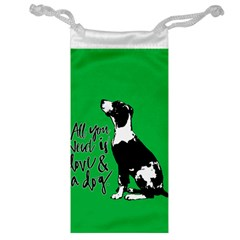 Dog person Jewelry Bag