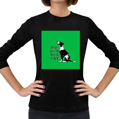 Dog person Women s Long Sleeve Dark T-Shirts