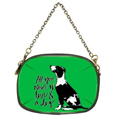 Dog person Chain Purses (One Side)