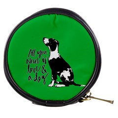 Dog person Mini Makeup Bags