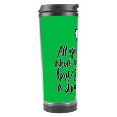 Dog person Travel Tumbler