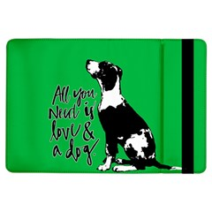 Dog person iPad Air Flip