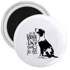 Dog person 3  Magnets