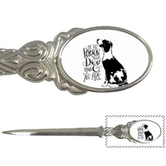 Dog person Letter Openers