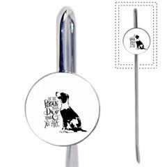 Dog person Book Mark