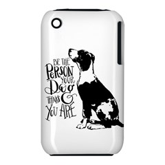Dog person iPhone 3S/3GS