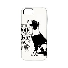 Dog person Apple iPhone 5 Classic Hardshell Case (PC+Silicone)