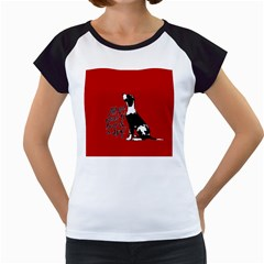 Dog person Women s Cap Sleeve T