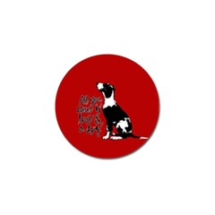 Dog person Golf Ball Marker (4 pack)