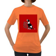 Dog person Women s Dark T-Shirt