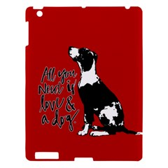 Dog person Apple iPad 3/4 Hardshell Case