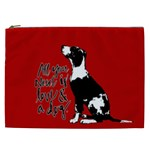 Dog person Cosmetic Bag (XXL)  Front