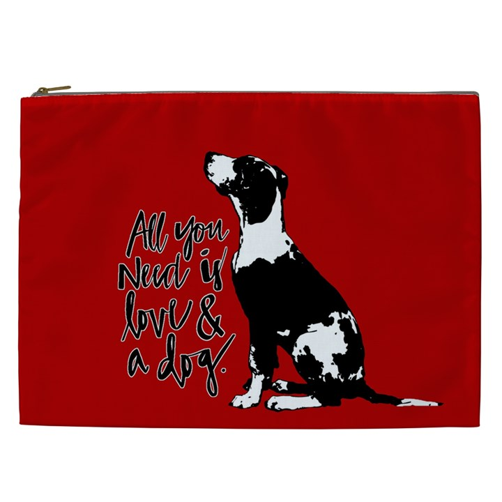 Dog person Cosmetic Bag (XXL)