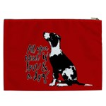 Dog person Cosmetic Bag (XXL)  Back