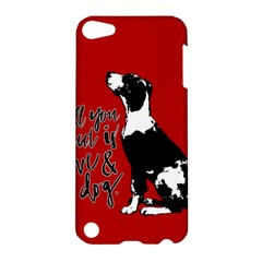 Dog person Apple iPod Touch 5 Hardshell Case
