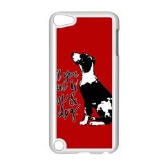 Dog person Apple iPod Touch 5 Case (White)