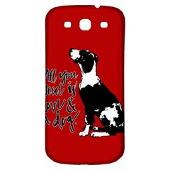 Dog person Samsung Galaxy S3 S III Classic Hardshell Back Case
