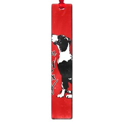 Dog person Large Book Marks