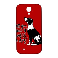 Dog person Samsung Galaxy S4 I9500/I9505  Hardshell Back Case