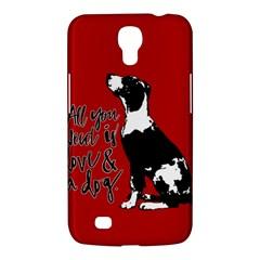 Dog person Samsung Galaxy Mega 6.3  I9200 Hardshell Case