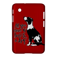 Dog person Samsung Galaxy Tab 2 (7 ) P3100 Hardshell Case