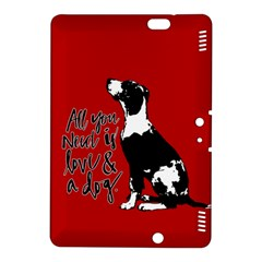 Dog person Kindle Fire HDX 8.9  Hardshell Case