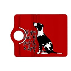Dog person Kindle Fire HD (2013) Flip 360 Case
