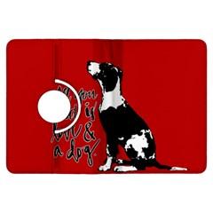 Dog person Kindle Fire HDX Flip 360 Case