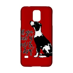 Dog person Samsung Galaxy S5 Hardshell Case