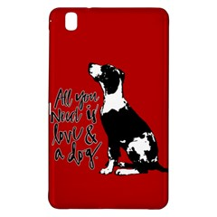 Dog person Samsung Galaxy Tab Pro 8.4 Hardshell Case