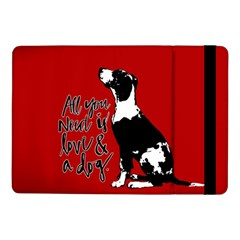 Dog person Samsung Galaxy Tab Pro 10.1  Flip Case