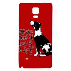 Dog person Galaxy Note 4 Back Case