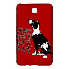 Dog person Samsung Galaxy Tab 4 (8 ) Hardshell Case