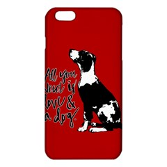 Dog person iPhone 6 Plus/6S Plus TPU Case