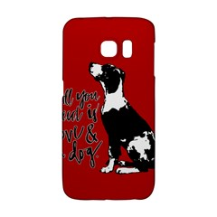 Dog person Galaxy S6 Edge