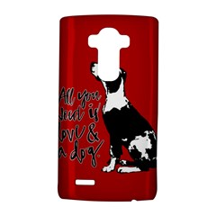 Dog person LG G4 Hardshell Case