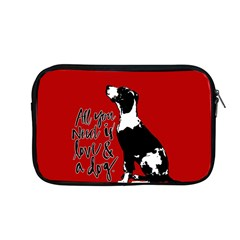 Dog person Apple MacBook Pro 13  Zipper Case