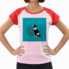 Dog person Women s Cap Sleeve T-Shirt