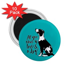 Dog person 2.25  Magnets (10 pack)