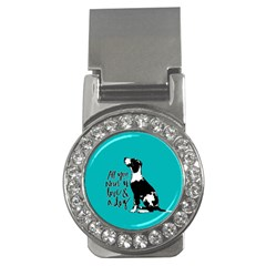 Dog person Money Clips (CZ)