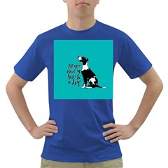 Dog person Dark T-Shirt