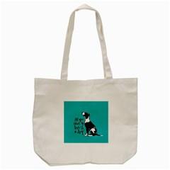 Dog person Tote Bag (Cream)