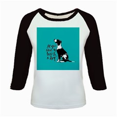 Dog person Kids Baseball Jerseys
