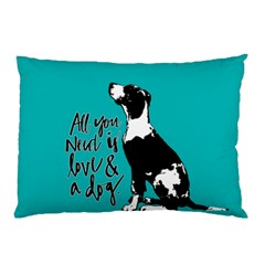 Dog person Pillow Case