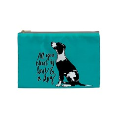 Dog person Cosmetic Bag (Medium)