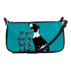 Dog person Shoulder Clutch Bags