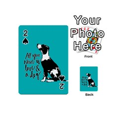 Dog person Playing Cards 54 (Mini)