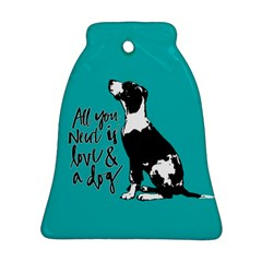 Dog person Ornament (Bell)